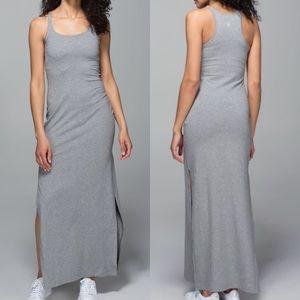 Lululemon | Refresh II Maxi Dress Heathered Grey